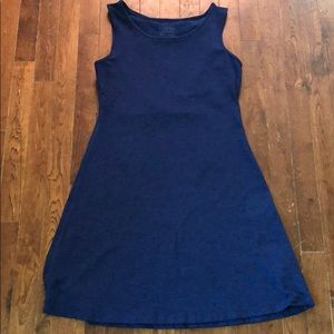Patagonia Seabrook Dress Channel Blue. S EUC
